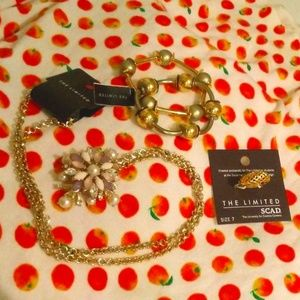 The Limited Gold Tone Jewelry Bundle